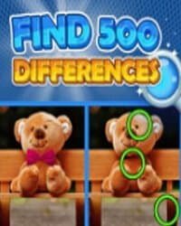 Найдите 500 Отличий / Find 500 Differences